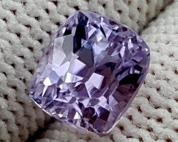 2.85CT UNHEATED PURPLE KUNZITE BEST QUALITY GEMSTONE IGC100