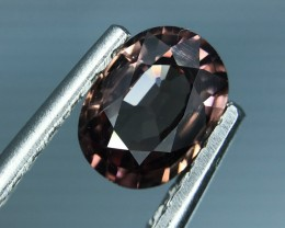 1.60 CT NATURAL BROWN ZIRCON HIGH QUALITY GEMSTONE S5