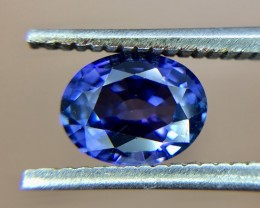 0.81 Crt GIL Certified Untreated Sapphire Faceted Gemstone (930)