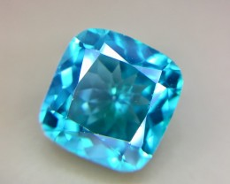 6.95 Crt Natural Green Topaz Faceted Gemstone (930)