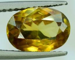 1.60 ct Oval Cut Shape Full Fire Sphene titanite From Skrdu Paksitan