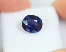 Lot 18 ~ 5.96Ct Natural Ceylon Blue Color Sapphire