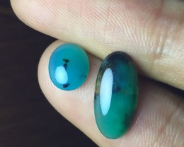 NATURAL INDONESIAN CHRYSOCOLLA CALCEDONY