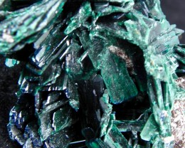 Very Rare Malachite PS Azurite specimen Milpillas Mine Cananea Sonora Mexic