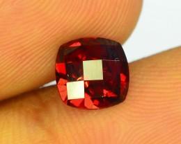 1.60 ct Natural Laser Cut Red Rhodolite Garnet