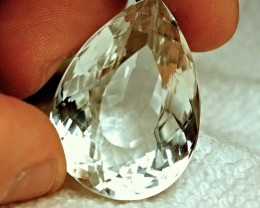 CERTIFIED HUGE  WHITE TOPAZ ~ 132cts ~ VVS ~ A GEM TO BE PROUD OF