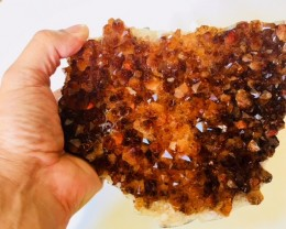 1.55 Kilo Deep dark beautiful  hue Citrine specimen CIT1