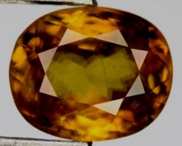 Brilliance of Diamond 3.15ct Honey Gold Yellow Sphene RS11/4
