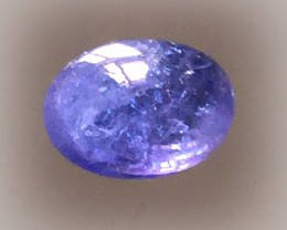 Fascinating Violet Blue Tanzanite Cabochon  NR