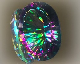 13.25ct Rainbow Mystic Quartz gem No Reserve!