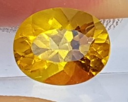 3.07cts Golden Beryl,  Untreated,  Top Color,  Clean