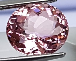 3.08cts, Baby Pink Tourmaline, Untreated,