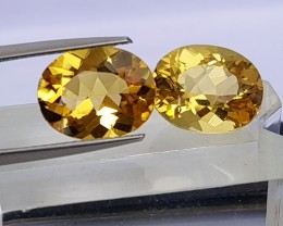 5.69cts,  Golden Beryl,  Clean,  Untreated, calibrated