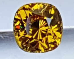1.88cts, Mali Garnet, *AMAZING* Fire, Luster and Color Untreated, Clean