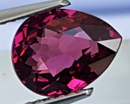 3.04cts  Mahenge Garnet,  Open Sweet Color,  Vivid and Alive