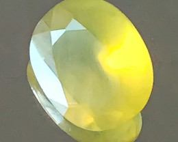 5.95ct ETHEREAL LEMON FIRE MEXICAN OPAL - GLOWING STONE NR
