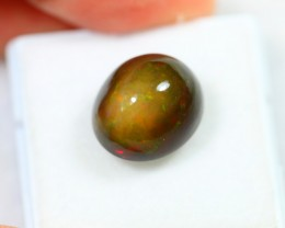 Lot 12 ~ 7.55ct Ethiopian Welo Smoked Polished Opal