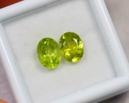 Lot 03 ~ 2.70Ct 8x6mm Natural VS Clarity Green Color Himalayan Peridot