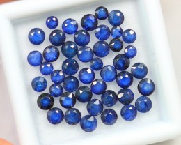 Lot 13 ~ 6.20Ct 2-3mm Natural VS Clarity Royal Blue Color Sapphire