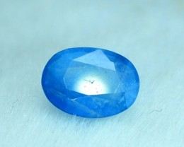 4.25 cts Rare Sapphire Blue Color Natural AFGHANITE Gemstone