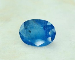 1.50 cts Rare Sapphire Blue Color Natural AFGHANITE Gemstone