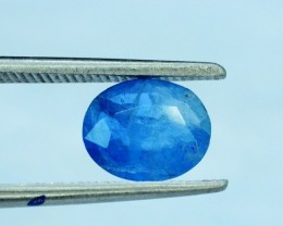 0.85 cts Rare Sapphire Blue Color Natural AFGHANITE Gemstone