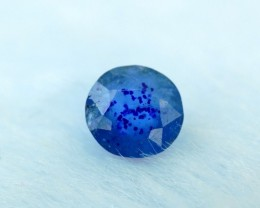 0.50 cts Rare Sapphire Blue Color Natural AFGHANITE Gemstone