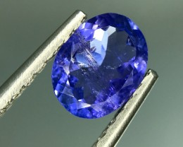1.50 CT NATURAL AA TANZANITE HIGH QUALITY GEMSTONE S7