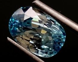 4 Crt Blue Zircon  GEMSTONE JI 170