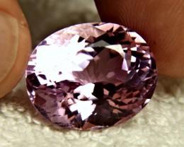 22.15 Carat VVS Himalayan Pink Kunzite - Gorgeous