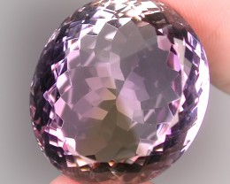37.70ct MULTI COLORED AMETRINE