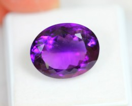 Lot 15 ~ 10.91Ct Natural VS Clarity Violet Color Amethyst