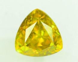 Certified Top Fire 2.21 ct Natural Titanite Sphene