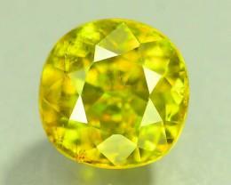Certified Top Fire 2.82 ct Natural Titanite Sphene