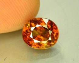 Certified Top Fire 2.45 ct Natural Titanite Sphene