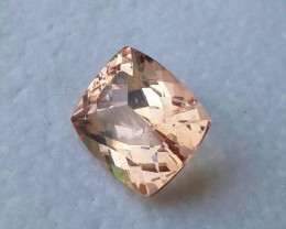 5.70 Cts EXCELLENT NATURAL LUSTER-PEACH PINK MORGANITE GEM