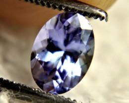 0.89 Carat African VVS Purple / Blue Tanzanite - Superb