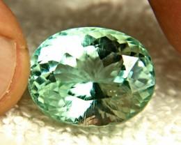 24.2 Carat Rutile Green Spodumene - Gorgeous