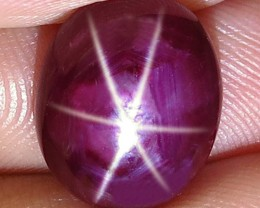 8.57 Carat Fiery Star Ruby - Superb