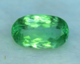 No Reserve - 7.10 ct Oval Cut Green Color Spodumene Gemstone From Afghanist