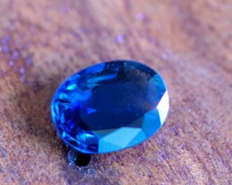 1.25 CTS CERTIFIED UNHEATED BLUE SAPPHIRE -MADAGASCAR[27111720]SA