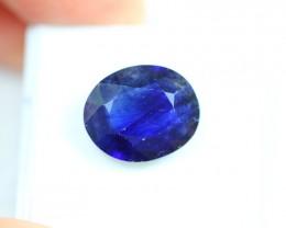 NR Lot 13 ~ 8.38Ct Natural Ceylon Blue Color Sapphire