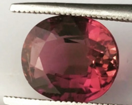Gorgeous 1.68ct Red Rubelite Tourmaline  - RS10/2 G543