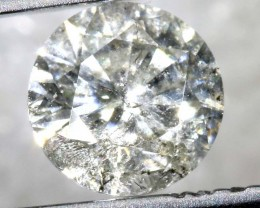 0.51 CTS WHITE DIAMOND FACETED SD- KOA-9