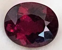 Luminous Purple-Red Rubellite Tourmaline, A58 G413