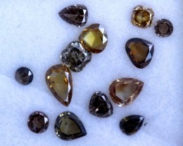 1 CTS YELLOW  DIAMONDS SD- KOA-14