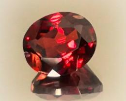 2.21ct Red Mozambique Garnet - NO RESERVE AUCTION! GOOD LUC98