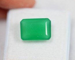 Lot 02 ~ 7.37Ct Natural VS Clarity Green Color Onyx