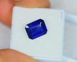 5.90Ct Natural Blue Sapphire Octagon Cut Lot V470