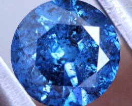 1.01 CTS BLUE DIAMOND CABOCHON CRYSTAL SD- KOA-33